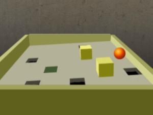 3D Drop Ball