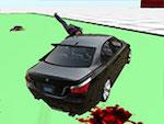 3d BMW M5 test