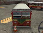 Aparcamiento de autobús 3D