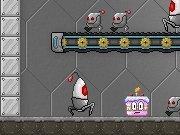 Roboter-Kuchen-Abwehr