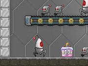 Gâteau Robot Defender