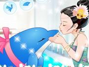 Um beijo de golfinho