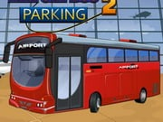 Aéroport Bus Parking 2