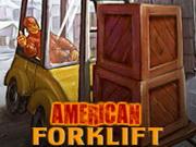 Carretilla elevadora americana