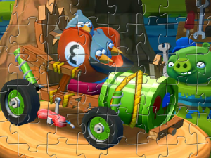 Angry Birds Les Blues Racers