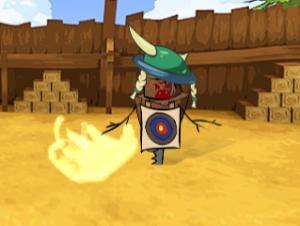 Lanzamiento de hacha