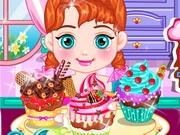 Bebê Anna Saboroso Cupcake