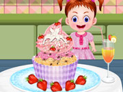 Baby Emma Cupcake Decor