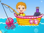 Juegos de pesca para bebés