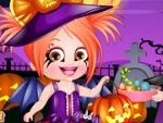 Hazel bebé de Halloween Vestir