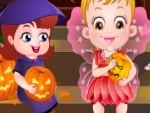 Bebek Hazel Halloween Party