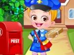 Bebê Hazel postwoman Dressup