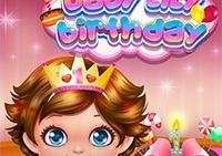 Aniversário do lírio do bebê