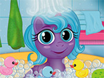 Baby My Little Pony Bath