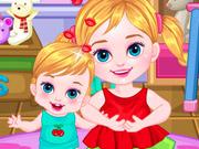 Baby Geschwister Pflege