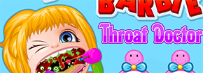 Bebê Barbie Doctor Throat Game