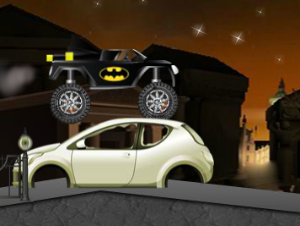 Batman Monster Truck Challenge-