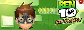 Ben 10 Eye Doctor Game