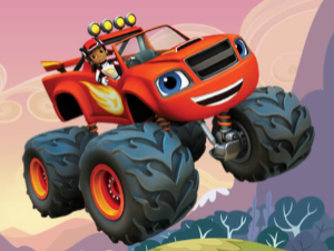 Blaze Monster Truck cartas escondidas