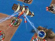 Invasión de barcos