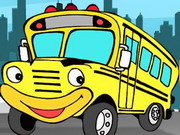 Parking d'autobus