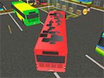 Conductor de autobús Aparcamiento