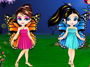 Cambio de imagen de hadas de mariposa