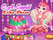CA Cupid Cake Decor