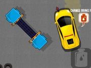 Estacionamento do serviço do carro
