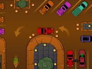 Parking samochodowy złodzieja