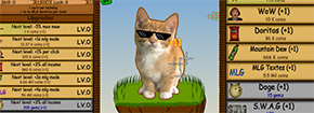 Gatto Clicker MLG Game