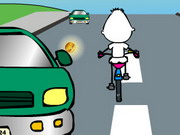 Τρελός ποδηλάτης