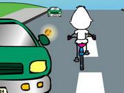 Loco ciclista