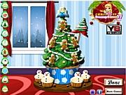 Рождественская елка кексов