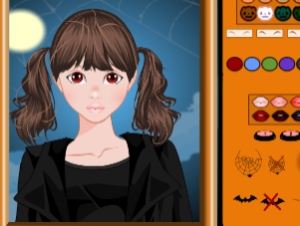 Cute Halloween Makeover