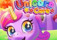 Söt Unicorn Care