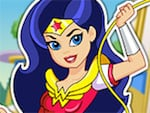 DC Superhero flickor: Wonder Woman Dress Up