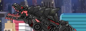 Dino robot Terminator T-Rex Game
