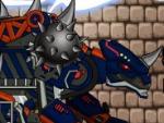 Dino Robot Combine oscuro Euoplo