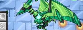 Dino Robot Ptera Verde Game