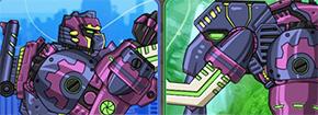 Dino Robot Mammoth Game