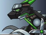 Dino Robot Ninja Velociraptor