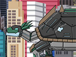 Dino robô Proganochelys
