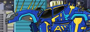 Dino Robot Amargasaurus Game
