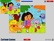 Dora Cartoon Jigsaw