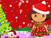 Gry świąteczne Dora