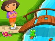Dora geht Camping
