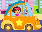 Dora vai para piquenique