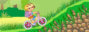 Dora Bike Ride Game