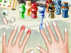Artes de las uñas del este